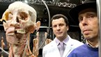 Dr Gunther von Hagens and Professor John Lee