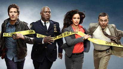 Brooklyn Nine-Nine: Jake, Ray, Amy and Charles