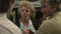 Sheila witnesses an angry confrontation between Mattie and Alun