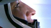 Astronaut in helmet