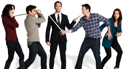 How I Met Your Mother: Robin, Ted, Barney, Marshall and Lily