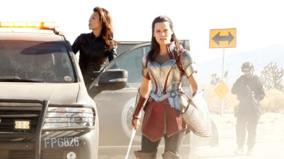 Marvel's Agents of S.H.I.E.L.D: Melinda May and Lady Sif