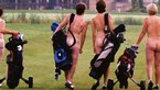 Naked golfers