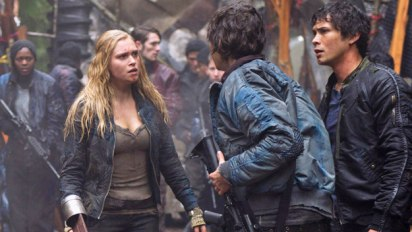The 100: Clarke and Bellamy