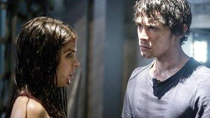 The 100: Octavia and Bellamy