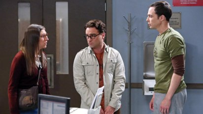 The Big Bang Theory: Amy, Leonard and Sheldon