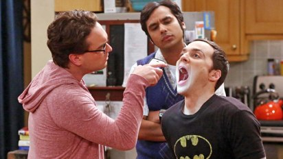 The Big Bang Theory: Leonard, Raj and Sheldon