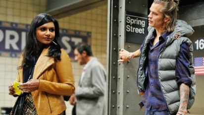 The Mindy Project: Mindy and Graham