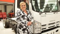 Nikki King, Isuzu Trucks UK